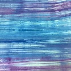 Blue and Lilac Batik