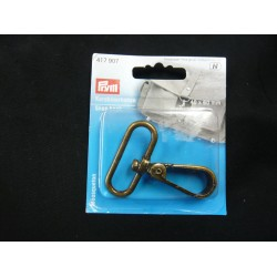 Snap Hook Antique Gold
