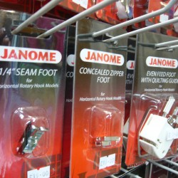 Janome Sewing Machine Accessories