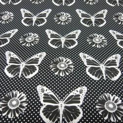Butterflies Black
