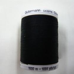 1000 m Black Gutermann Sew All Thread