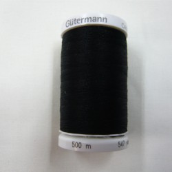 500 m Black Gutermann Sew All Thread