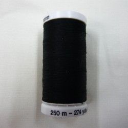 250 m Black Gutermann Sew All Thread