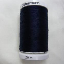 500 m Navy Gutermann Sew All Thread