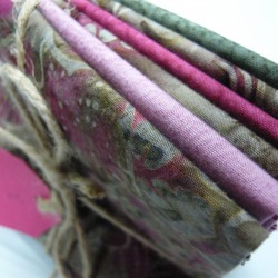 Pink and Taupe Batik Bundle