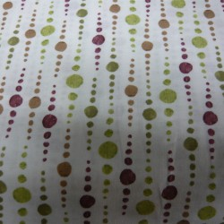 Murano Green/Brown Bubbles