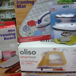 IRONS AND IRONING AIDS