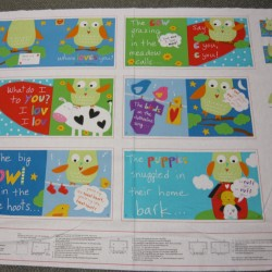 Huggable and Loveable Book Panel