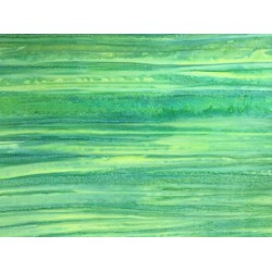 Green and Turquoise Batik